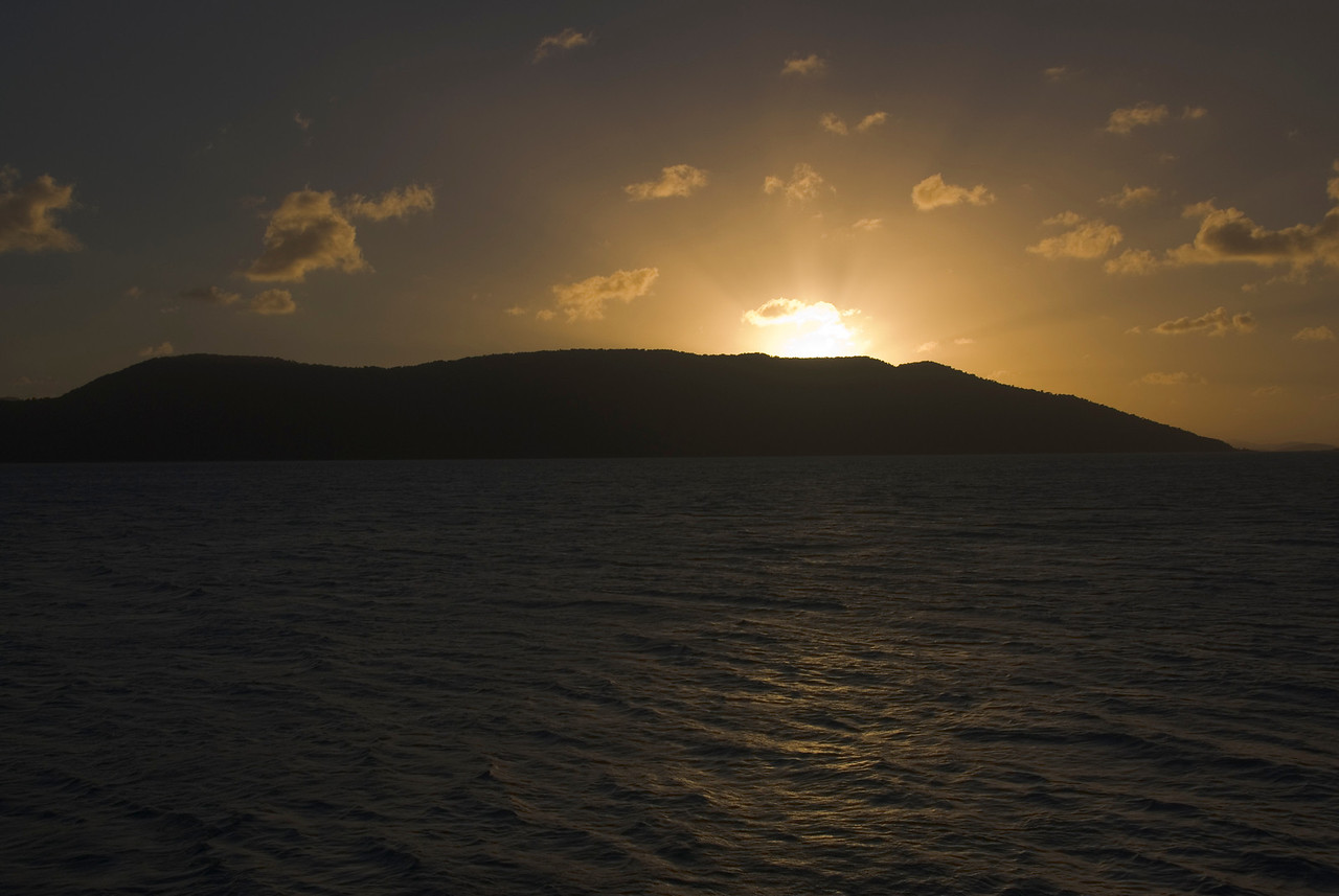 Sunset, Whitsunday Islands - Queensland, Australia