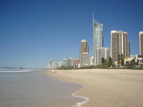 Surfers Paradise Beach, Queensland - Australia