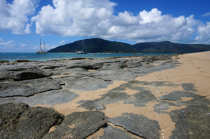 Langford Reef during low tide.