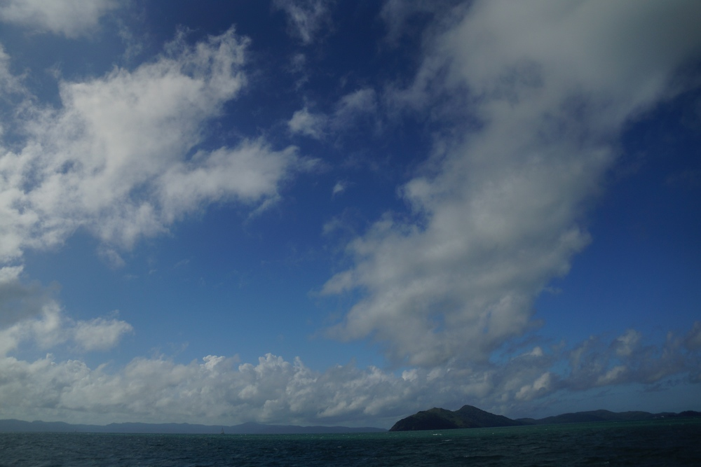 This is just the first shot of the impressive cloud formations we witnessed sailing for the day.