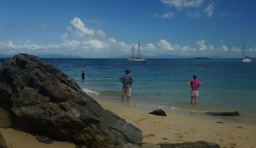 We had roughly one hour to enjoy our time on the first beach before we headed in for a buffet lunch feast.