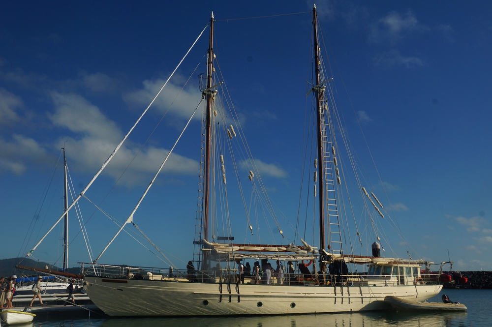 The magnificent Derwent Hunter - our sailing vessel for the day.