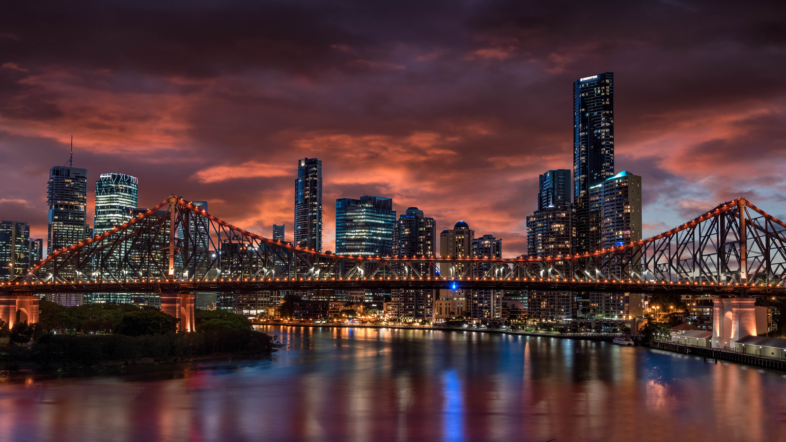 Brisbane, Australia at night