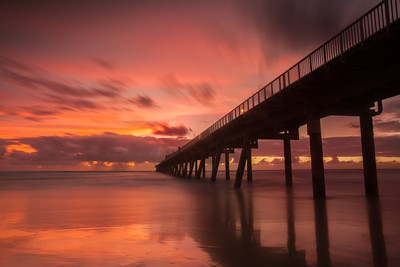 Sunrise at The Spit in Queensland, Australia