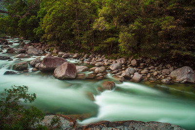 The Mossman River in North Queensland.