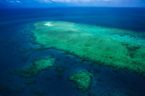 The Great Barrier Reef From Above.