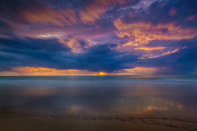 Sunrise in Port Douglas, Queensland.