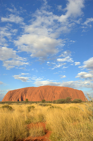 Ayers Rock in Australia's Outback