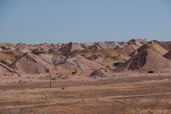 Landscape of Coober Pedy, South Australia