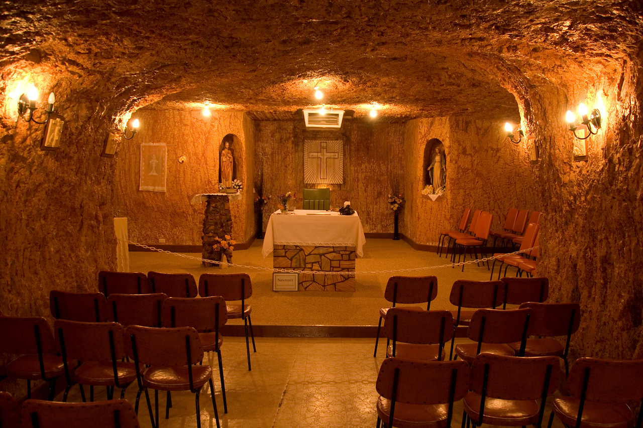 Underground Catholic Church - Coober Pedy, South Australia
