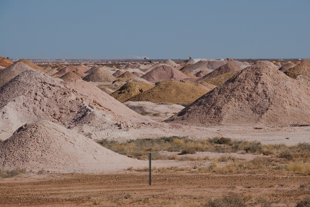Mine Piles 5 - Coober Pedy, South Australia