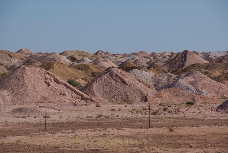 Mine Piles 2 - Coober Pedy, South Australia