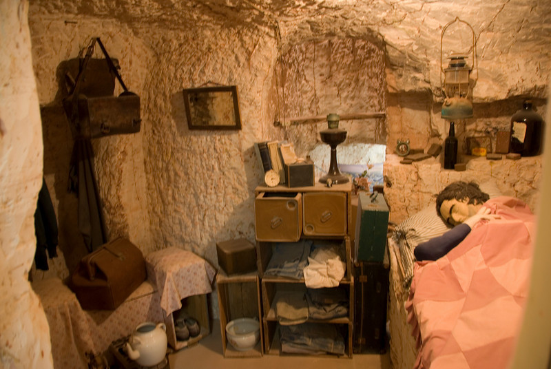 Dugout 2, Oldtimers Mine - Coober Pedy, South Australia
