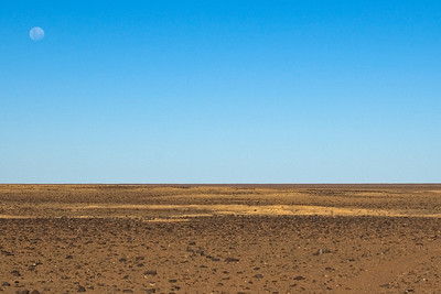 Moon and Moon Plains 2, Breakaways  - Coober Pedy, South Australia
