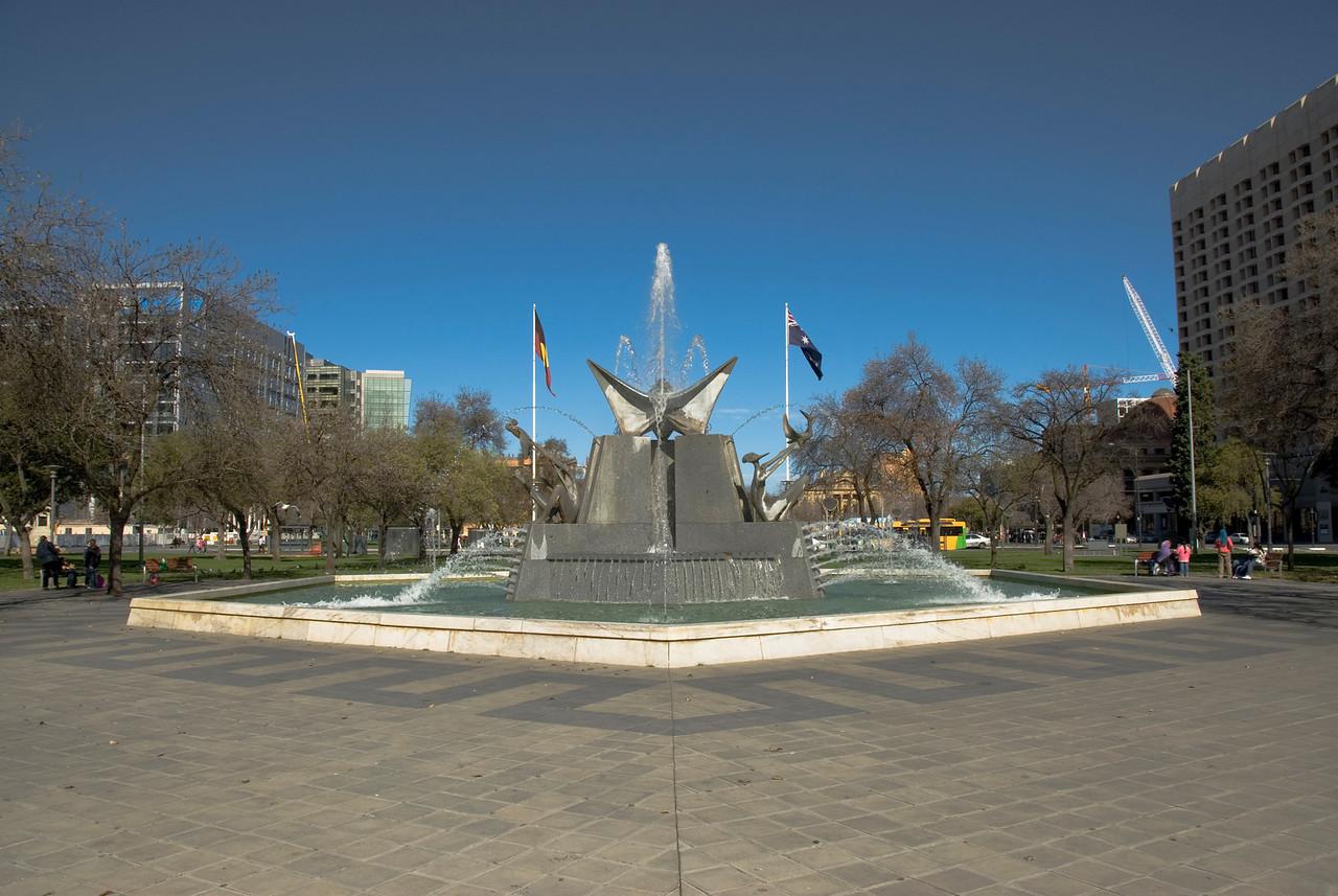 Water Fountain - Adelaide, South Australia