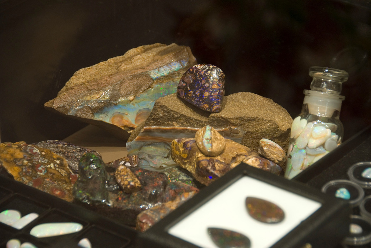 Queensland Boulder Opals - Coober Pedy, South Australia