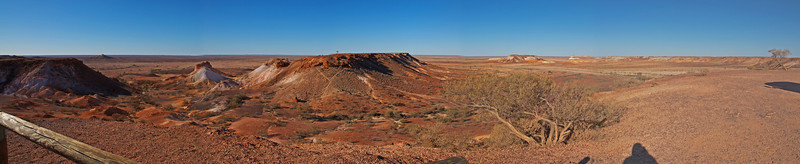Breakaways Panorama - Coober Pedy, South Australia