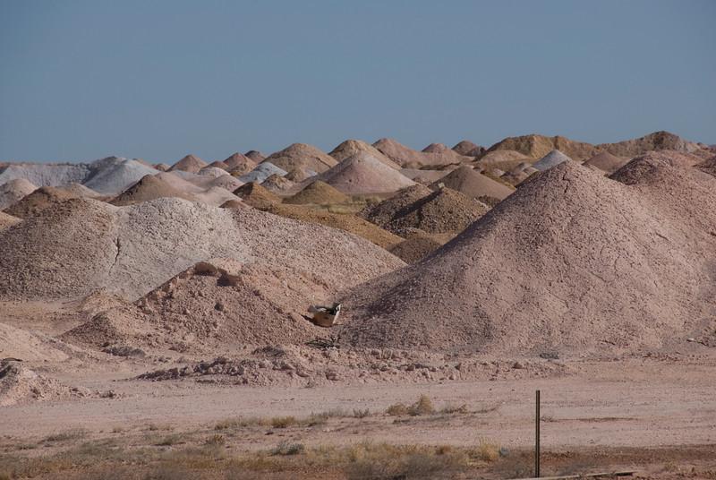Mine Piles 3 - Coober Pedy, South Australia