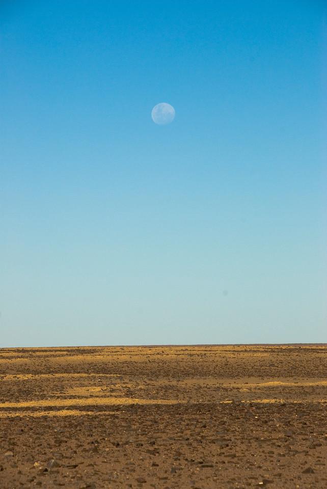 Moon and Moon Plains 1, Breakaways  - Coober Pedy, South Australia