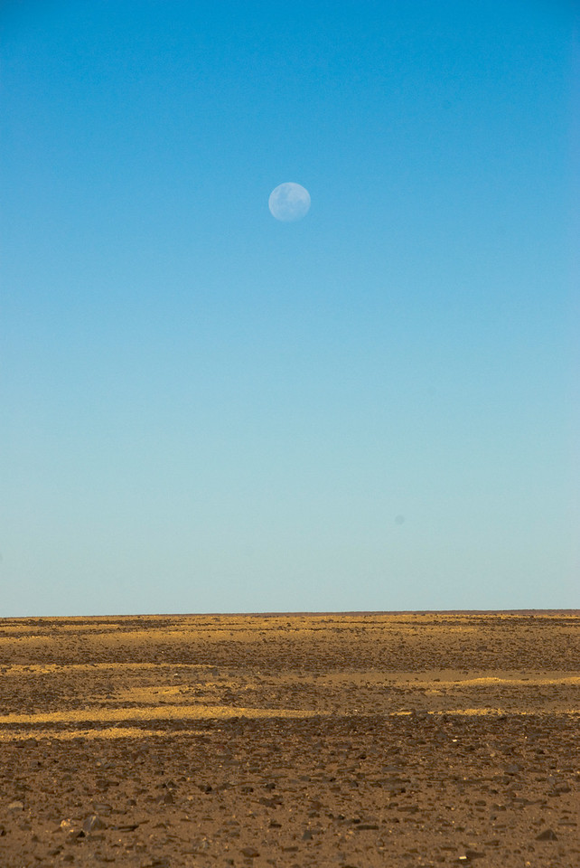 Moon and Moon Plains 1, Breakaways  - Coober Pedy, South Australia