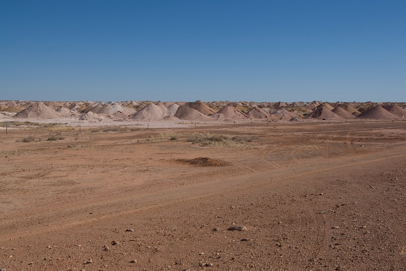 Mine Piles 4 - Coober Pedy, South Australia