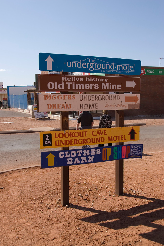 Signs - Coober Pedy, South Australia