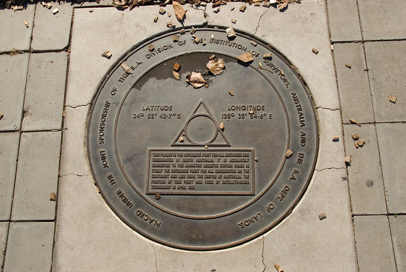 Survey Marker - Adelaide, South Australia