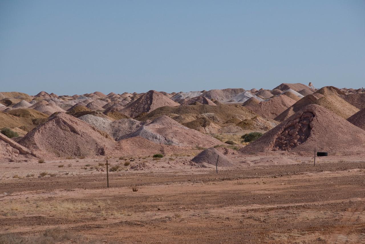 Mine Piles 1 - Coober Pedy, South Australia