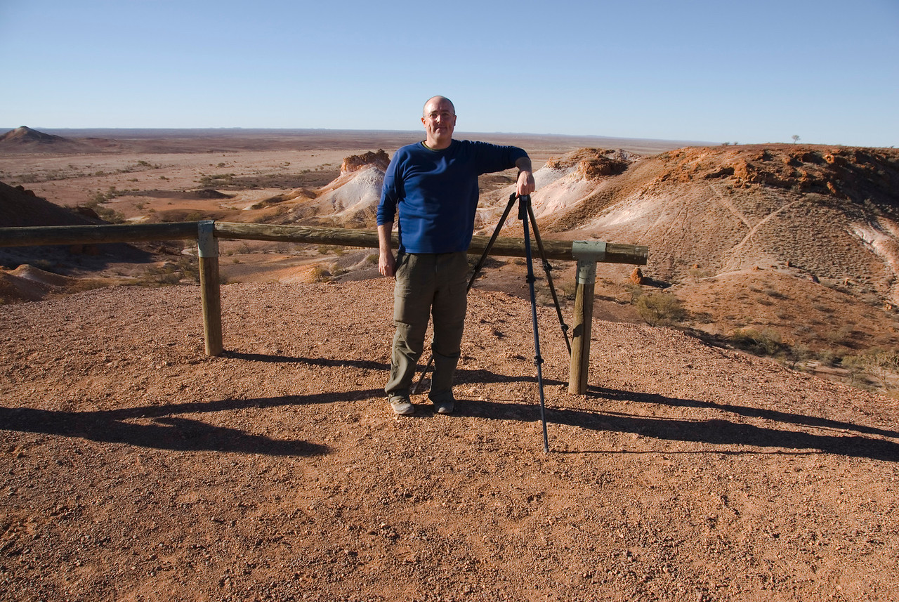 Me at Breakaways - Coober Pedy, South Australia