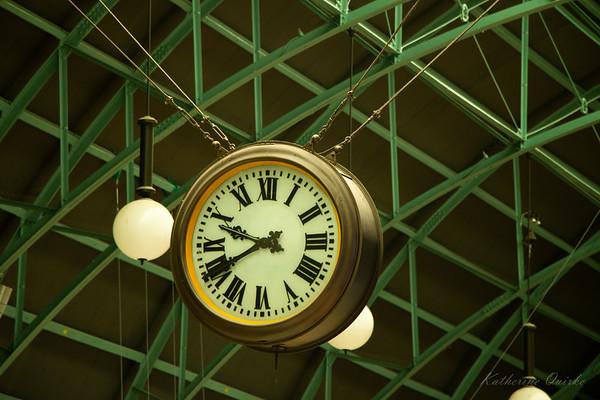 Suspended Clock