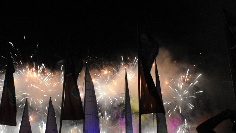 Australia Day fireworks in Sydney