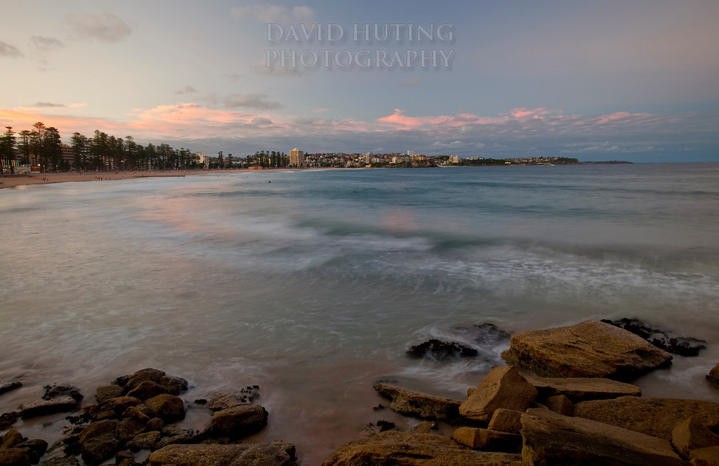 Manly Wideangle Sunset VIEW