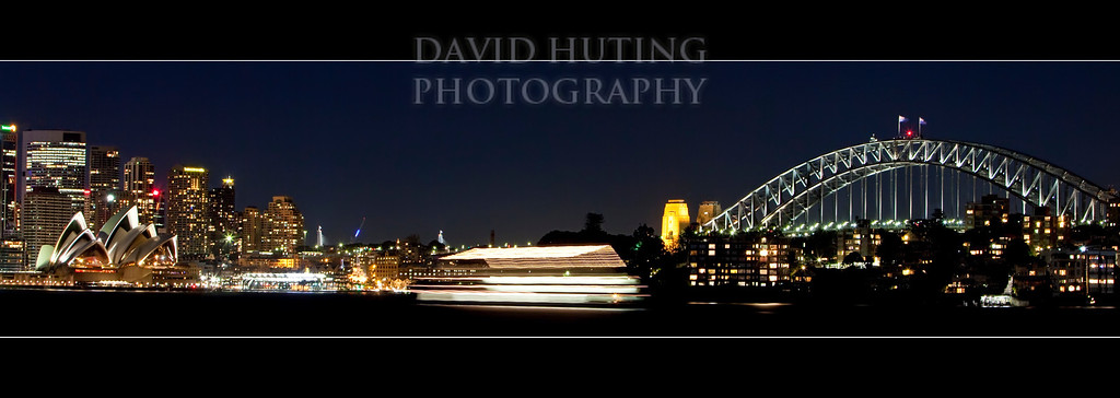 Suydney Harbour Pano