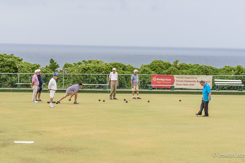 Lawn Bowling on the Cliffs