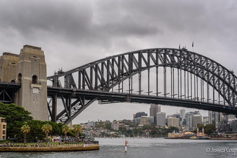 Luna Park Under Sydney Harbour Bridge