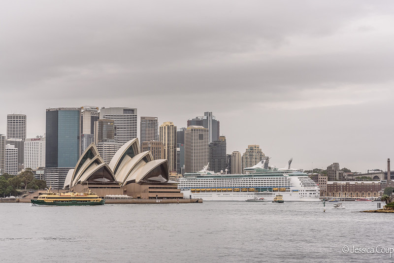 Boats in the Sydney Harbour