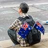 Watching the Australia Day  Festivities