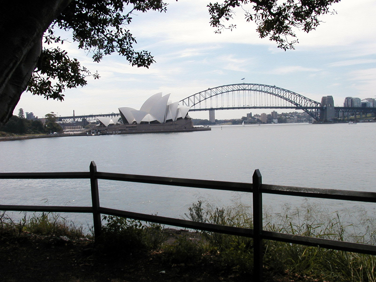 View of Opera House and Bridge from Mrs Macquaries Point