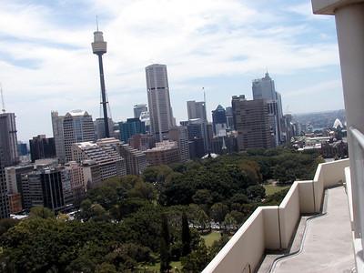 View from Top of Sydney Marriott