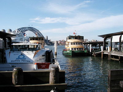 Ferries at Circular Quay