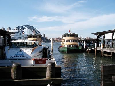 Ferries at Circular Quay
