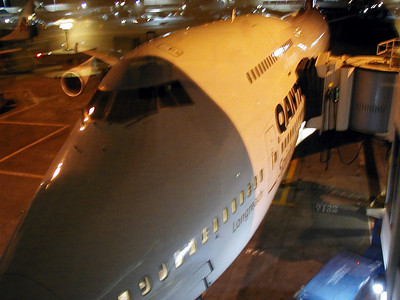 Boarding Quantas Flight 12 Nonstop 15 hours Los Angeles, USA  to Sydney, Austraila