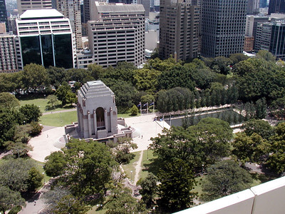Anzac War Memorial in Hyde Park