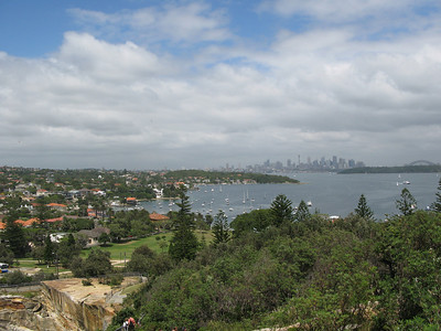 View of CBD from Watsons Bay