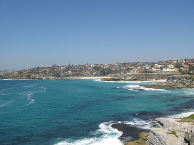 Coastal walk to Bronte Beach