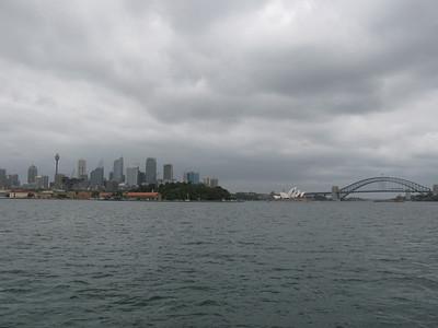 Ferry in from Watsons Bay