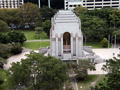 View of Anzac Memorial