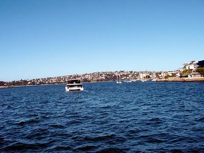 Sailing Sydney Bay