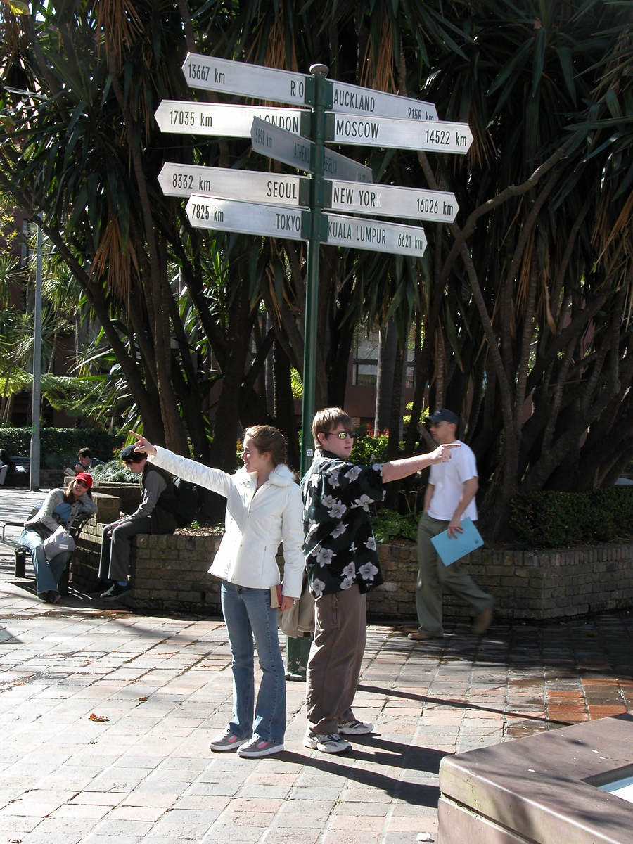 Signpost and Directions - Sydney, Australia