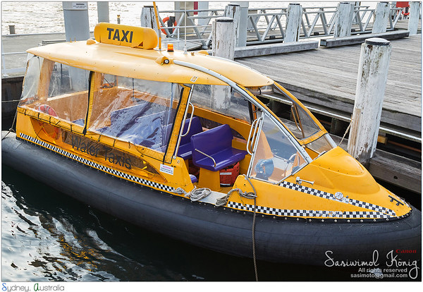 Yellow water taxi!!